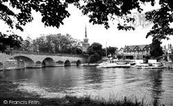 The Bridge c.1965, Wallingford