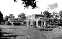 The Lawns, Castle Priory c.1960, Wallingford