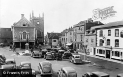 The Market Place c.1950, Wallingford