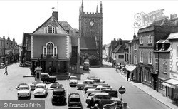 The Market Place c.1965, Wallingford