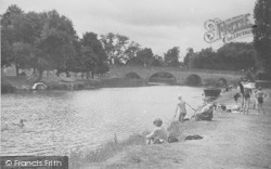 Wallingford, The River Thames c.1955