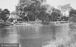 Wallingford, The Rowing Club c.1965
