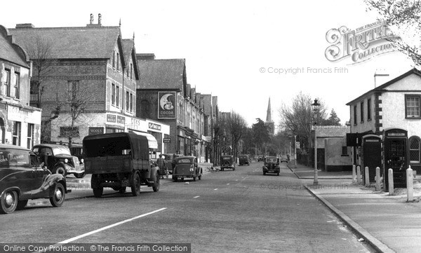Photo of Wallington, Manor Road c.1955