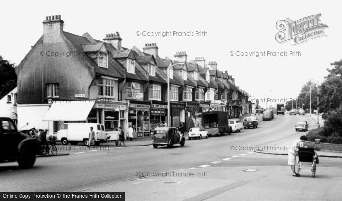 Wallington, Stafford Road c1965