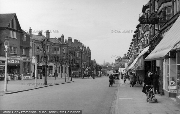 Photo of Wallington, Woodcote Road c.1950