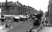 Wallington, Woodcote Road c1955