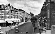 Wallington, Woodcote Road c1960