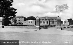 Wallsend, Health Centre And Hospital c.1950