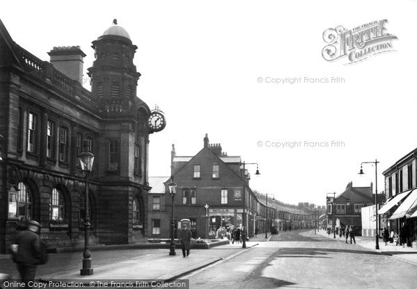 Wallsend, The Town Hall 1951
