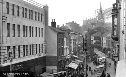 Walsall, Market Day 1955