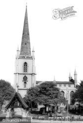 Walsall, St Matthew's Church 1967