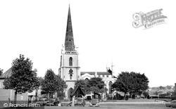 Walsall, St Matthew's Church c.1965