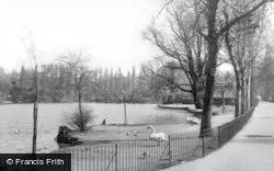 Walsall, The Arboretum c.1939