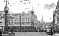 Walsall, The Bridge 1955