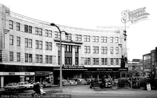 Photo of Walsall, The George Hotel c1965