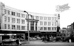 The George Hotel c.1965, Walsall