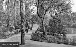 Walsall, The Poplar Path, Arboretum c.1939