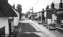 Walsham-Le-Willows, High Street 1959