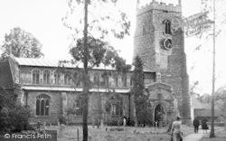 Walsham-Le-Willows, St Mary's Church c.1955