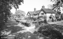 Walsham-Le-Willows, Summer Road c.1960