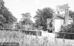 Walsham-Le-Willows, The Lawn c.1955