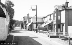 Walsham-Le-Willows, The Street c.1955