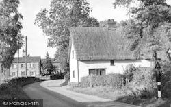 Walsham-Le-Willows, Wattisfield Road c.1955