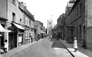 Waltham Abbey, Highbridge Street 1921