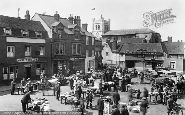 Waltham Abbey, Market Square 1921