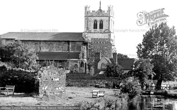 Waltham Abbey, the Church c1955