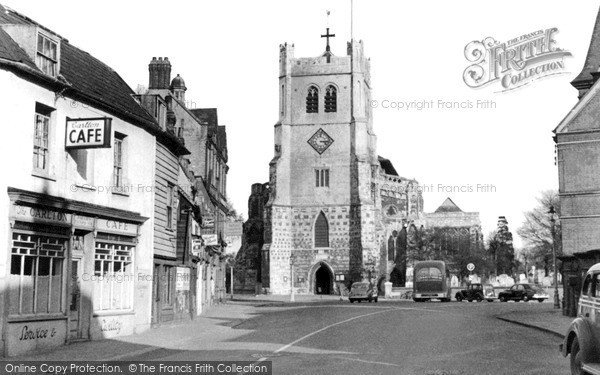 Waltham Abbey © Copyright The Francis Frith Collection 2005. http://www.frithphotos.com