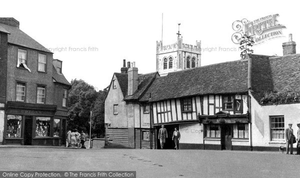 Waltham Abbey, the Welsh Harp c1955