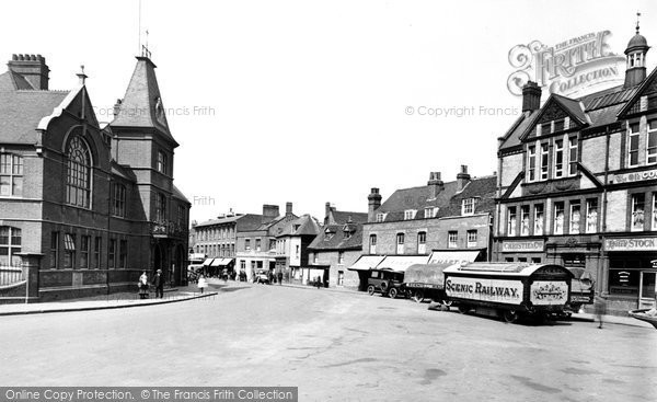 Waltham Abbey, Town Hall and Highbridge Street 1921