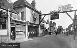 Foure Swannes Hotel 1921, Waltham Cross
