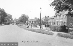 Waltham, High Street c.1960