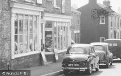 Waltham, Shop In Kirkgate c.1960