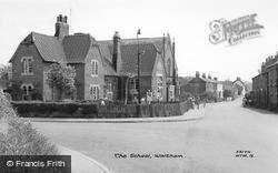 Waltham, The School c.1960