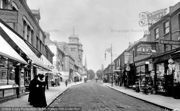 Photo of Walthamstow, High Street 1904
