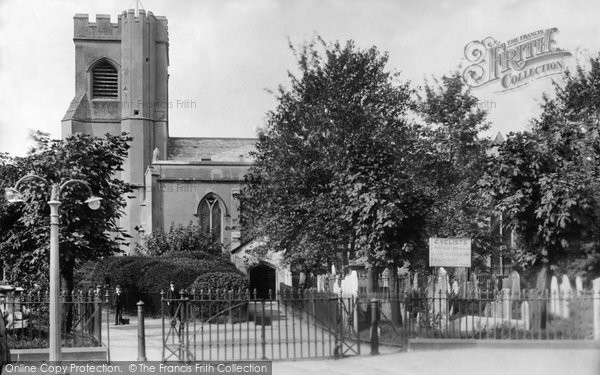 Photo of Walthamstow, St Mary's Church 1903