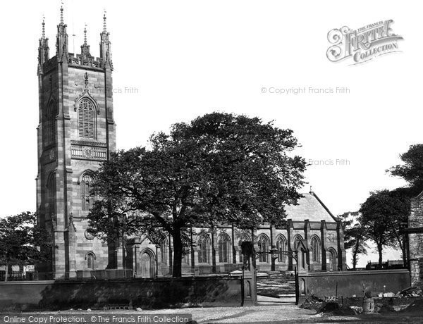 Walton, Church c1874