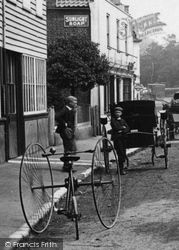 Walton-on-Thames, A Tricycle 1893