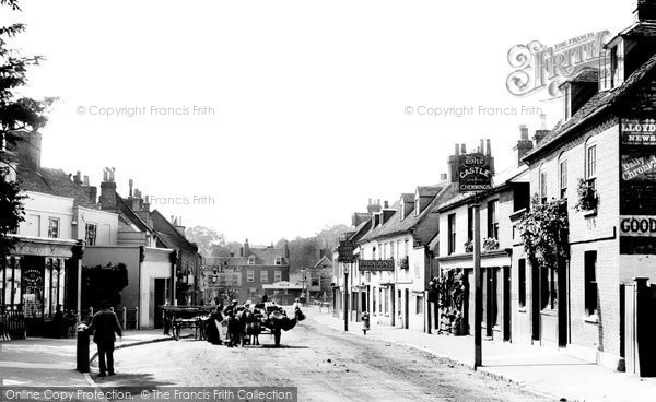 Walton-on-Thames, Church Street, 1899 Reproduced courtesy of The Francis Frith Collection