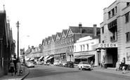 Walton-on-Thames, High Street c1955