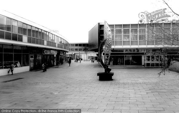 Photo of Walton On Thames, Shopping Centre c.1965
