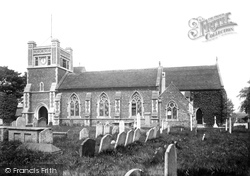 Walton, St Mary's Church 1901
