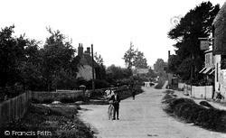 Wanborough, High Street c.1912