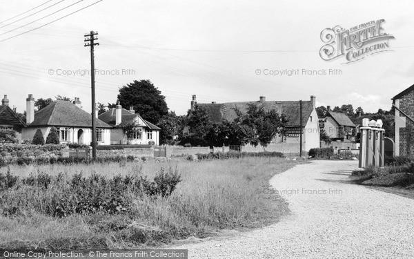 Photo of Wanborough, High Street c.1960
