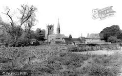 Wanborough, St Andrew's Church c.1965