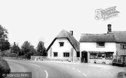 Wanborough, The Cottage Shop c.1965