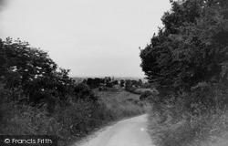 Wanborough, The Hollow c.1965